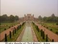 Vista desde el Taj Mahal