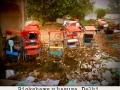 Rickshaws y basura