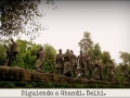 Siguiendo a Ghandi