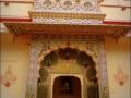 Puerta de pavo reales