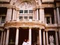 Erika y yo. Palacio de Bellas Artes