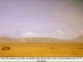 El surrealismo de una barca en medio del desierto por el terremoto del 2007.