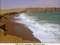 Playa roja. Paracas