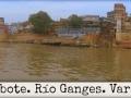 Paseo en bote. Río Ganges