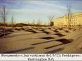 Monumento a las víctimas del 9 11. Pentágono