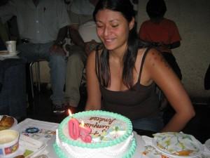 En mi cumpleaños número 30. Cuando empezó el caballito. :)