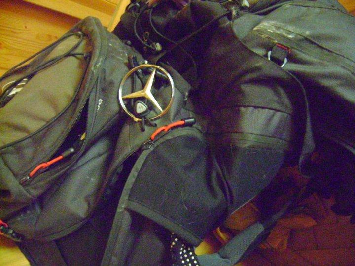 Mochila Mercedes Benz