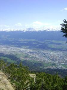 Innsbruck desde arriba.