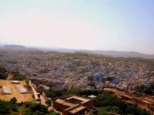 Jodhpur: la ciudad azul.