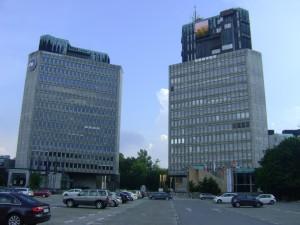La Plaza de la República, donde se anunció la independencia de Yugoslavia.