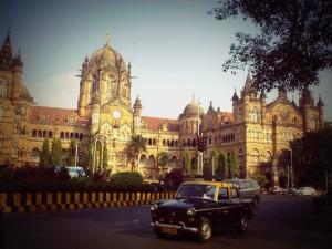 Estación de trenes. Mumbai.
