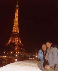 Mi mamá y yo en París. Tantos sueños por cumplir, alguno se ha de vivir.