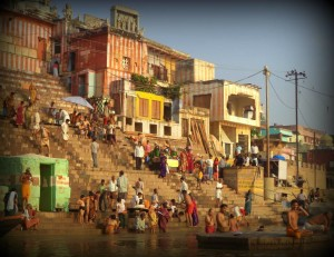 Un ghat. Varanasi.