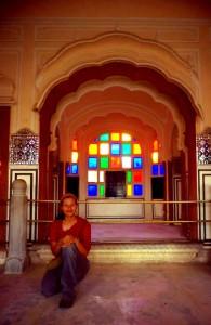 En Jaipur, cuando ya le había agarrado el toque a  India.