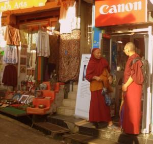 En busca de un monje...