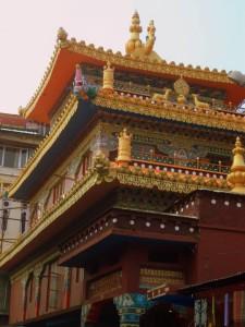 Templo en Temple Road (valga la redundancia).
