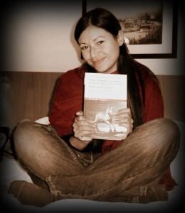 Mi primera novela publicada y yo.