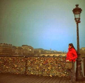 Pont des Arts. París. Forever alone.