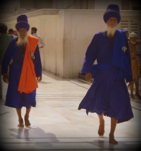 Guardias sikhs en pleno siglo XXI.