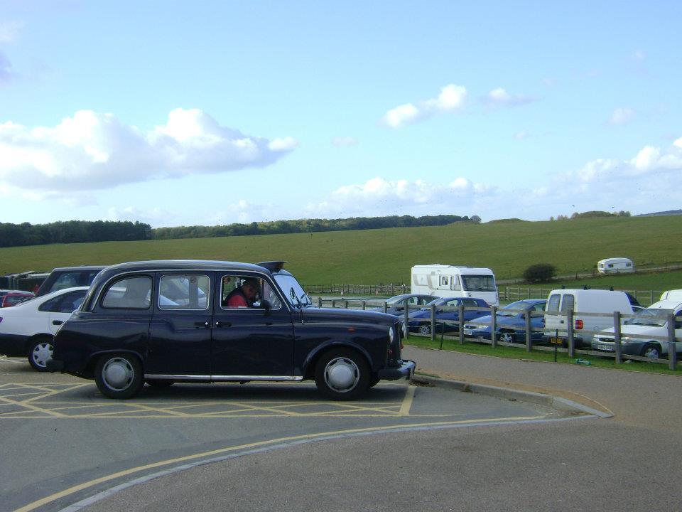Alguien que SÍ fue en taxi a Stonehenge. :o