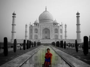 En India.
