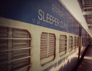 Tren en India.