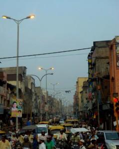 Delhi, casi sin sol.