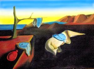 La presistencia de la memoria de Salvador Dalí. El tiempo y los recuerdos en una imagen.