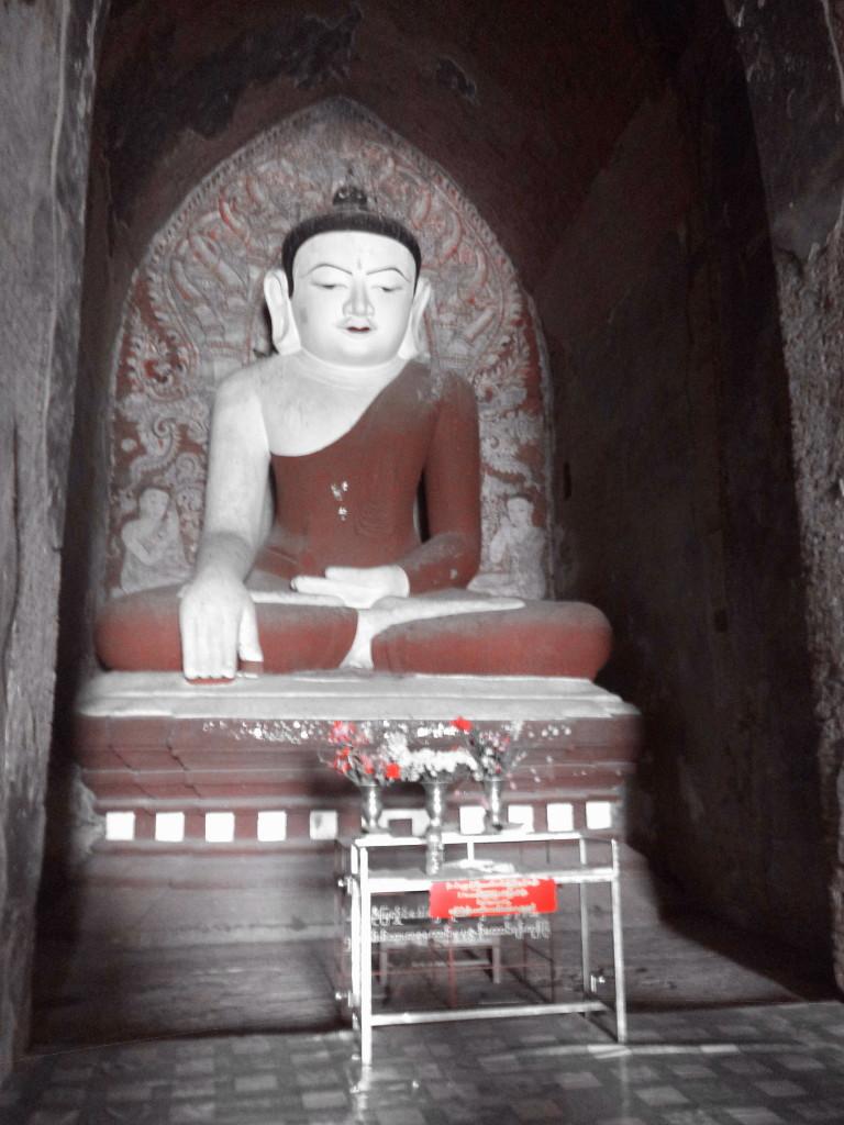 Buda sin cuello...