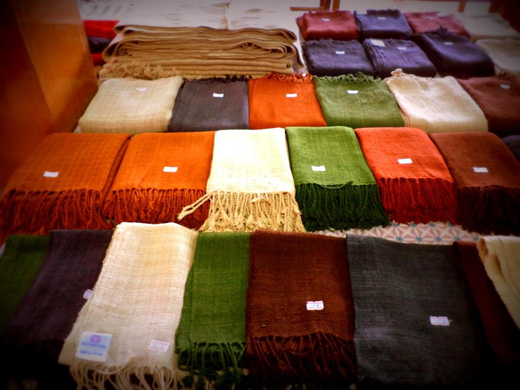 Las módicas bufandas de loto.