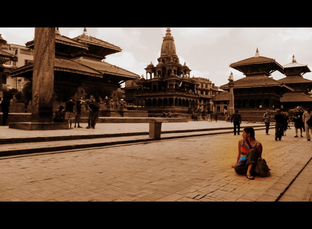 Donde yo ya no existo en un lugar que ya no existe. Patan, Nepal