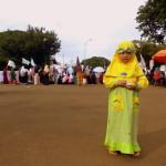 Niña musulmana Indonesia