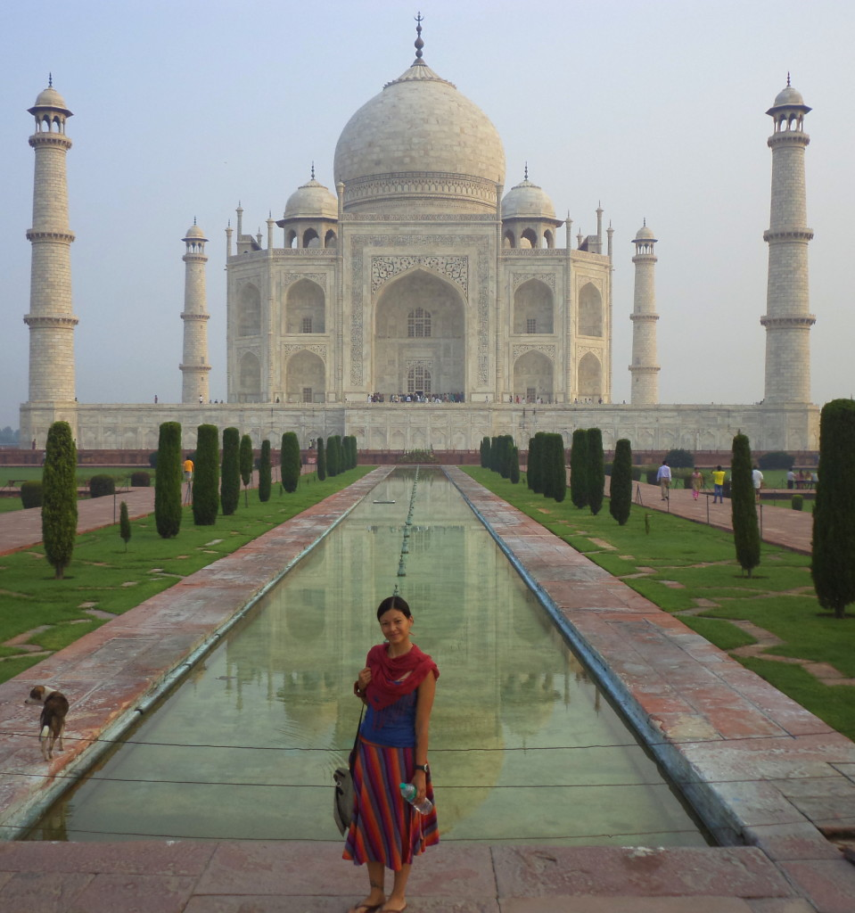 Taj Mahal Sobre el caballito