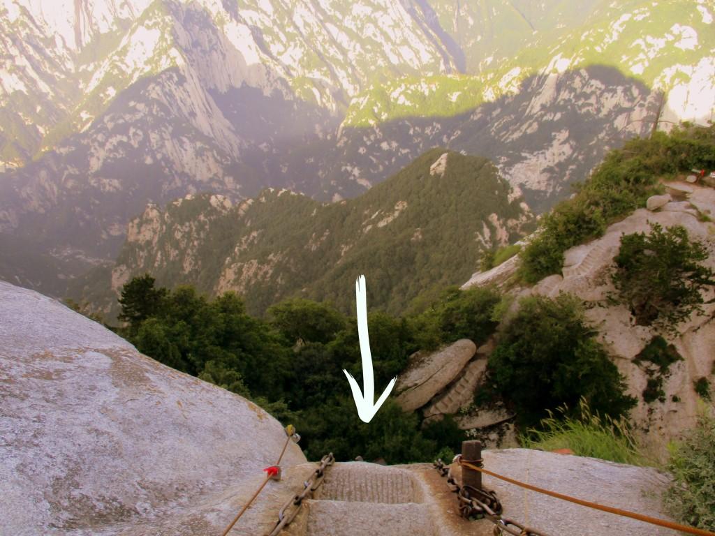 Que parece que no se ven, pero que AHÍ están montaña abajo.