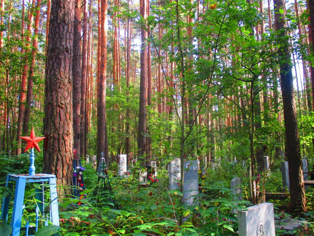 El escenario de esta historia: cementerio Shirokorechenskoe Kladbishe. Yekaterinburgo, Rusia.