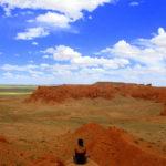 En Mongolia, en el desierto de Gobi y, de feria, en el país menos densamente poblado del planeta.