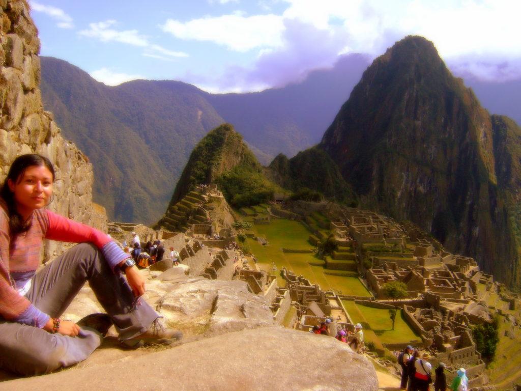 Machu Picchu Andrea Aguilar-Calderón