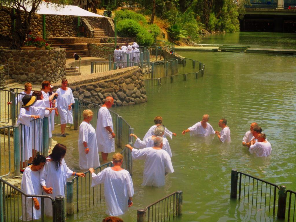 Bautizo río Jordán Lugares de la Biblia Hoy