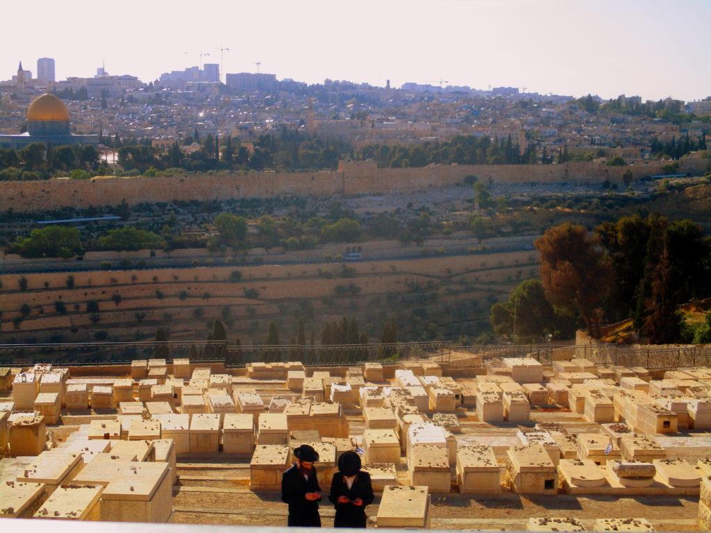 Cementerio judío Monte de los Olivos Jerusalén Lugares de la Biblia Hoy