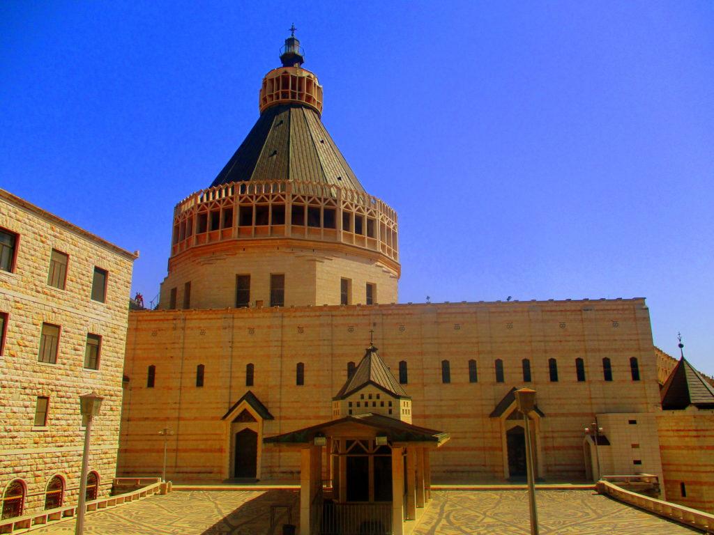 Iglesia anunciación Nazareth Lugares de la Biblia Hoy