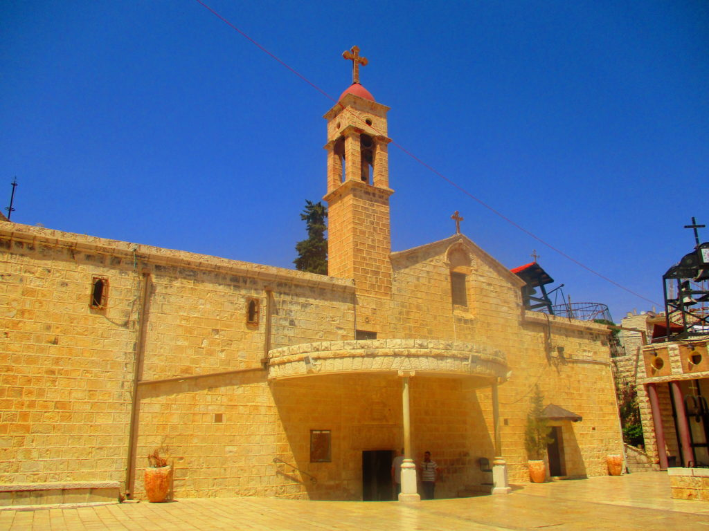 Iglesia ortodoxa anunciación Nazareth Lugares de la Biblia Hoy