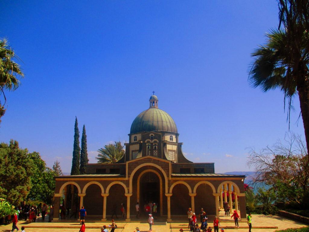 Monte de las Bienaventuranzas Galilea Israel Lugares de la Biblia Hoy