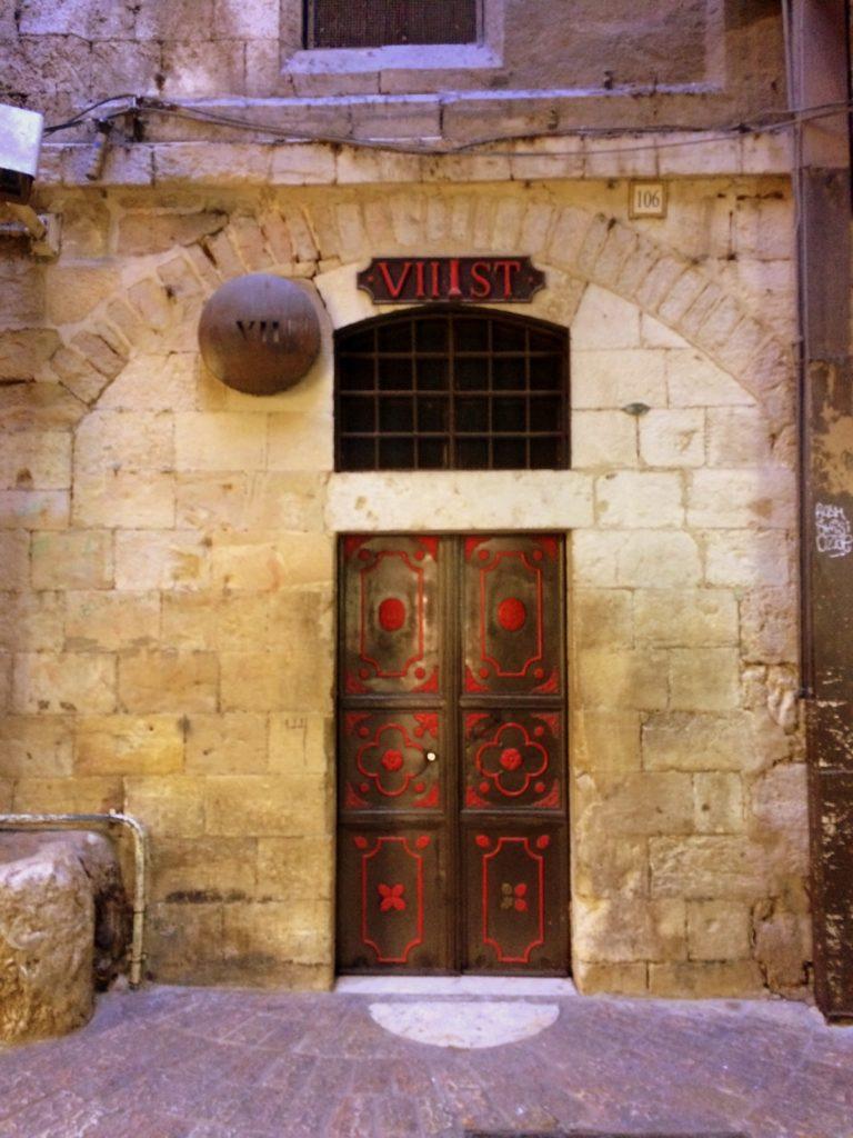 Séptima estación via crucis Jerusalen Lugares de la Biblia Hoy