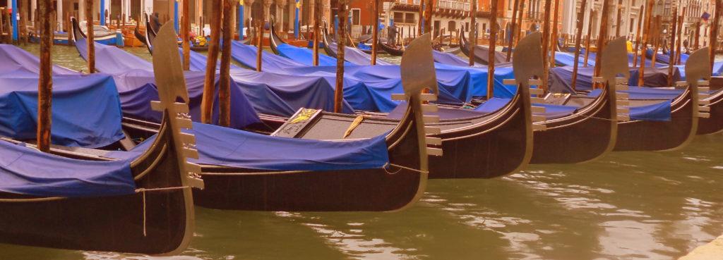 Gondolas Venecia sitios que te harán viajar en el tiempo