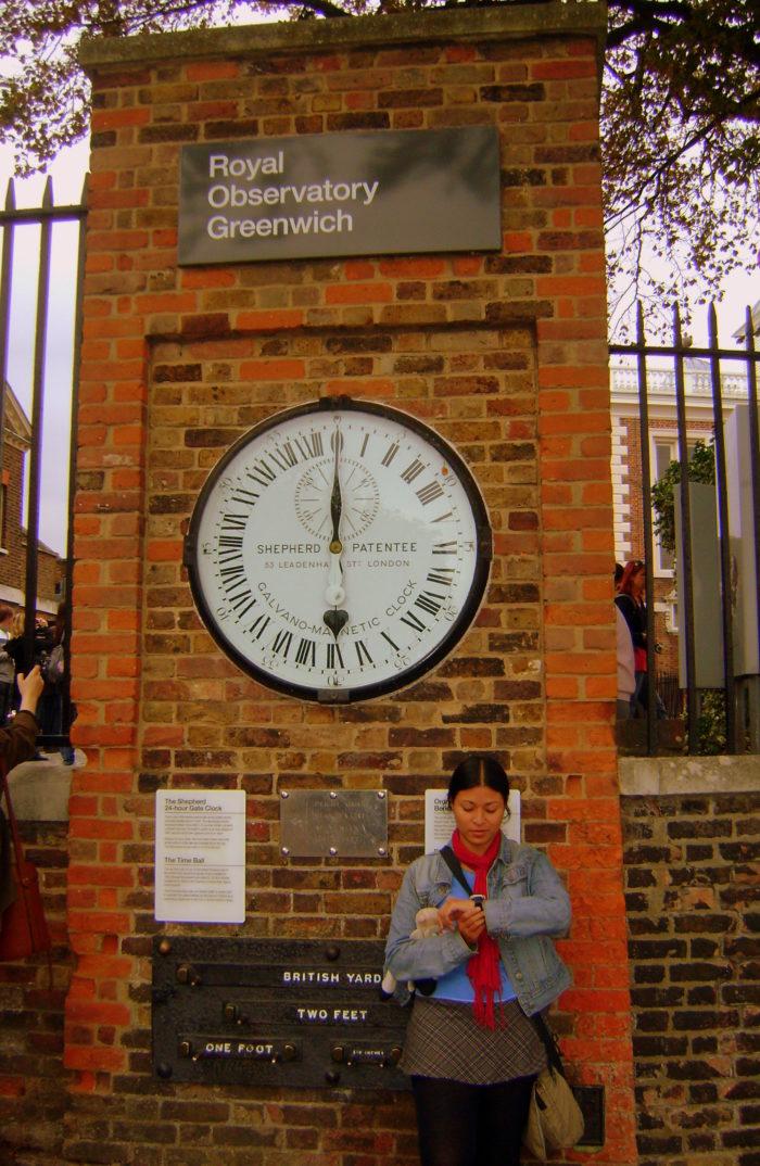 Por qué los años pasan tan rápido Greenwich